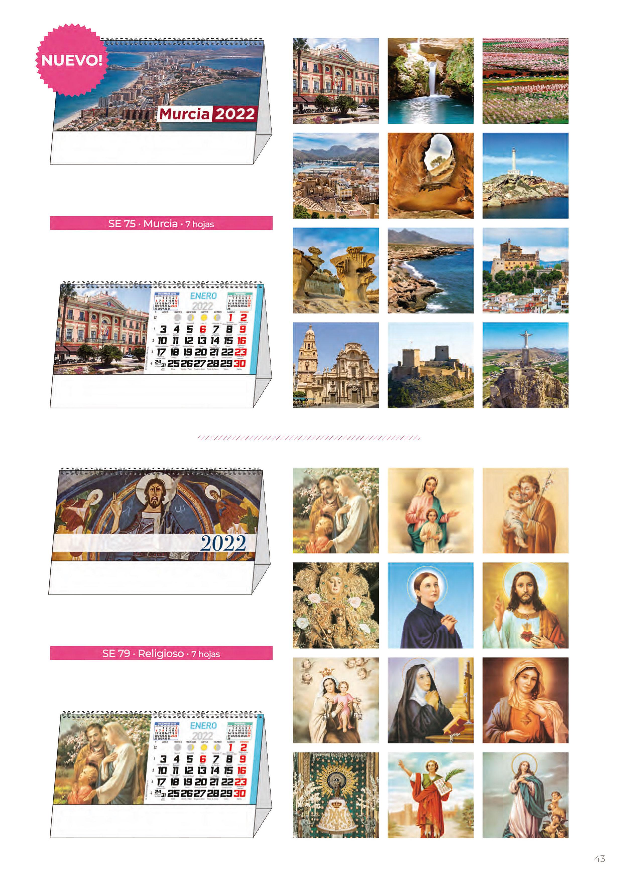 Foto 310 de Calendarios en Madrid | Gráficas Kalendex