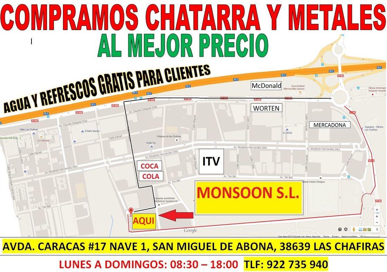 Centro en Las Chafiras