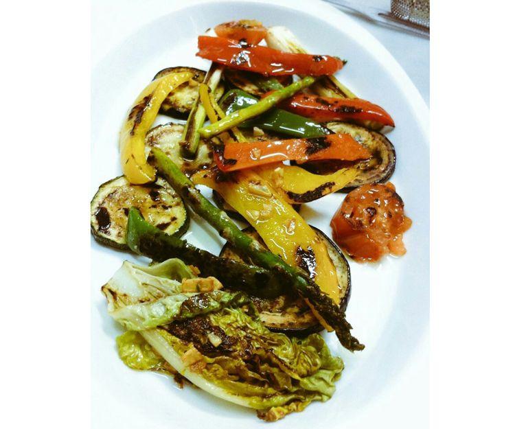 Plato de verduras a la plancha
