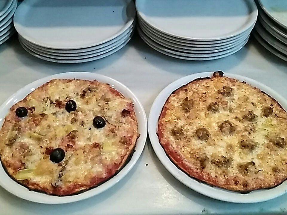 Pizzas italianas en Chiclana de la Frontera.