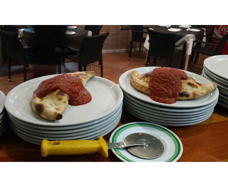 Platos de cocina italianos en Chiclana de la Frontera.