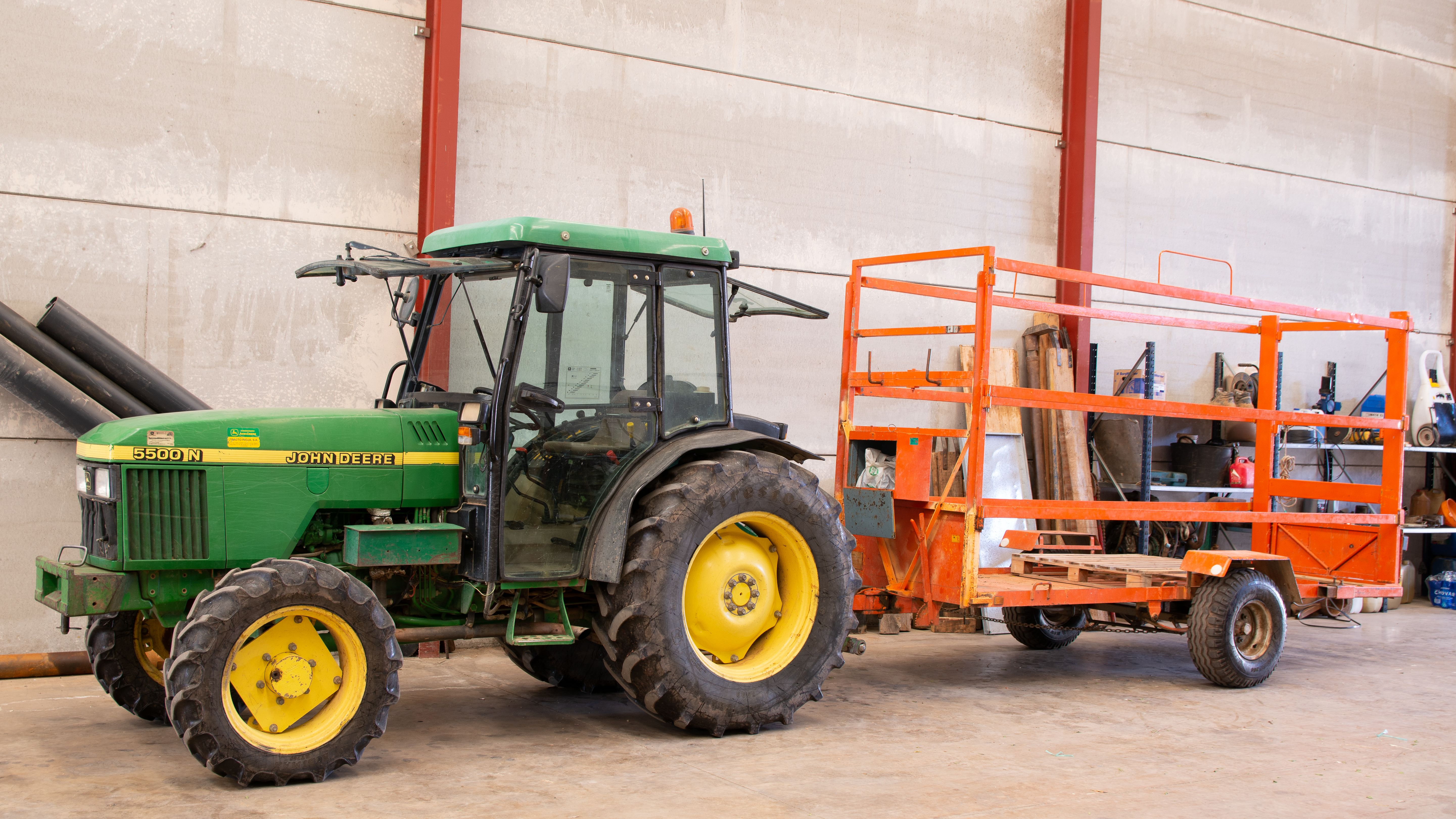 Tractor Jardiart
