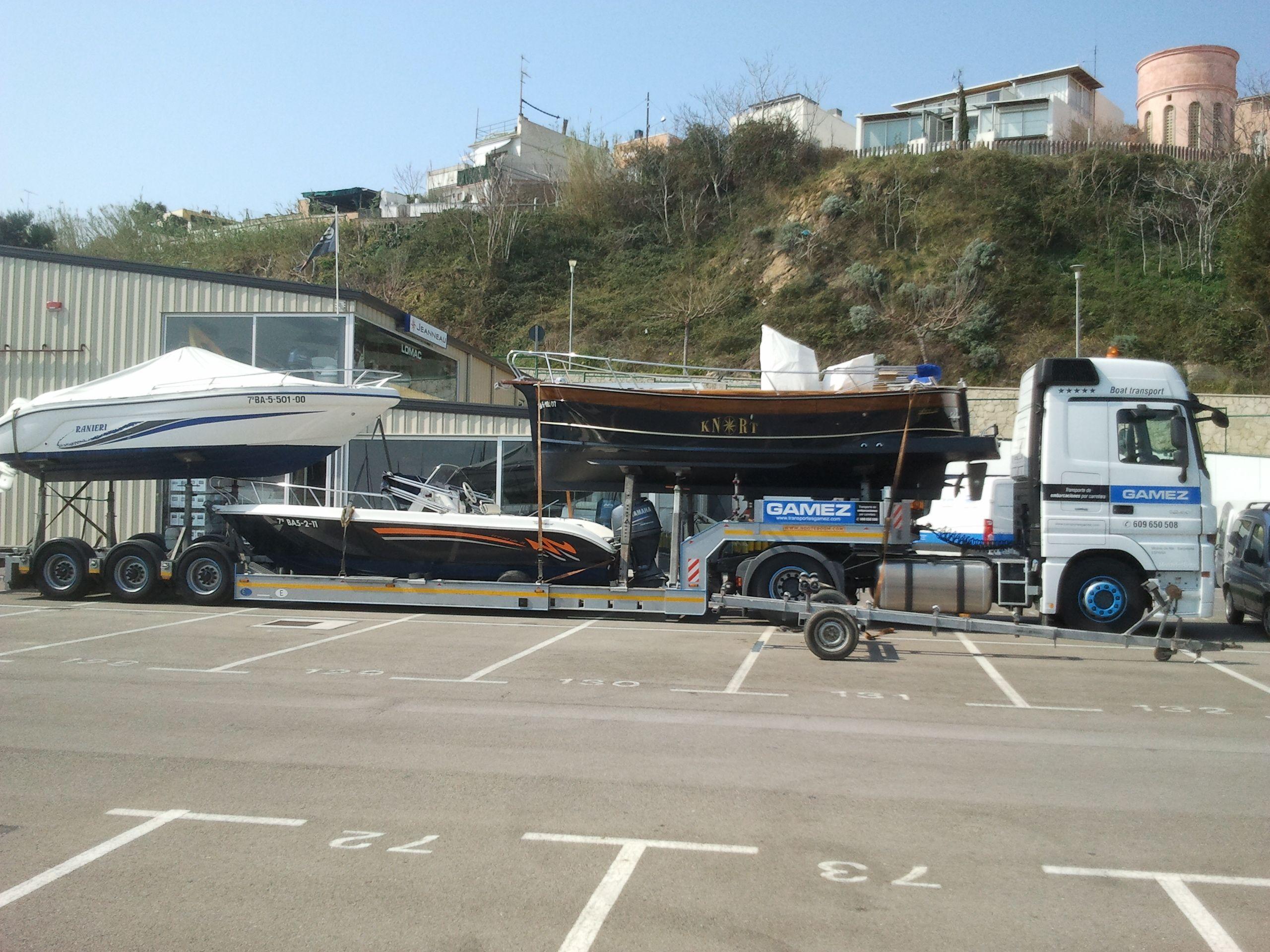 Foto 4 de Transporte por carretera en Molins de Rei   Transportes Gámez