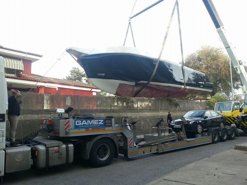 Transporte de todo tipo de embarcaciones