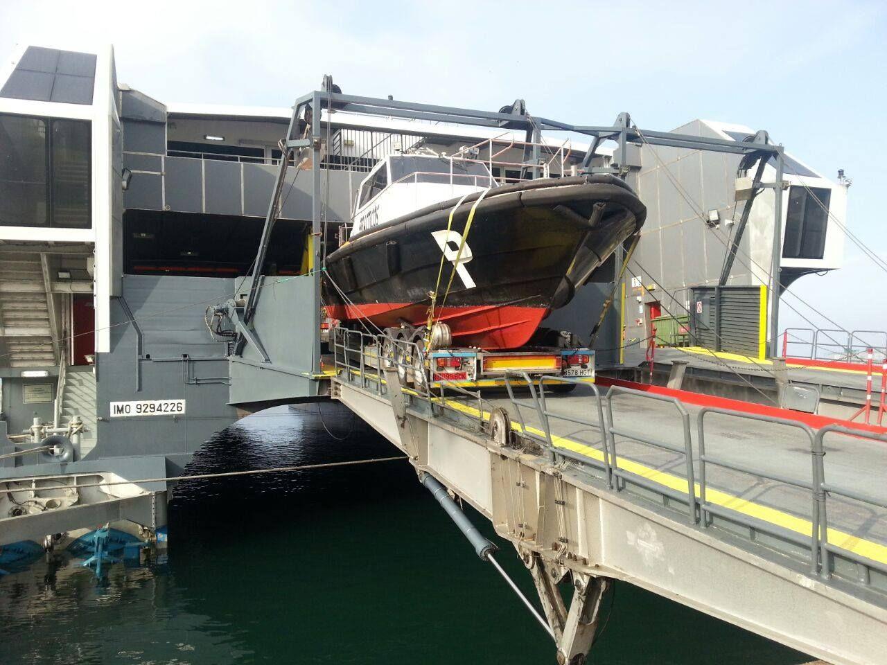 Ttransporte de embarcaciones por carretera a nivel nacional, internacional