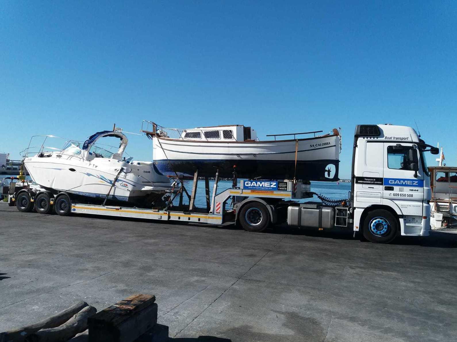 transporte embarcaciones