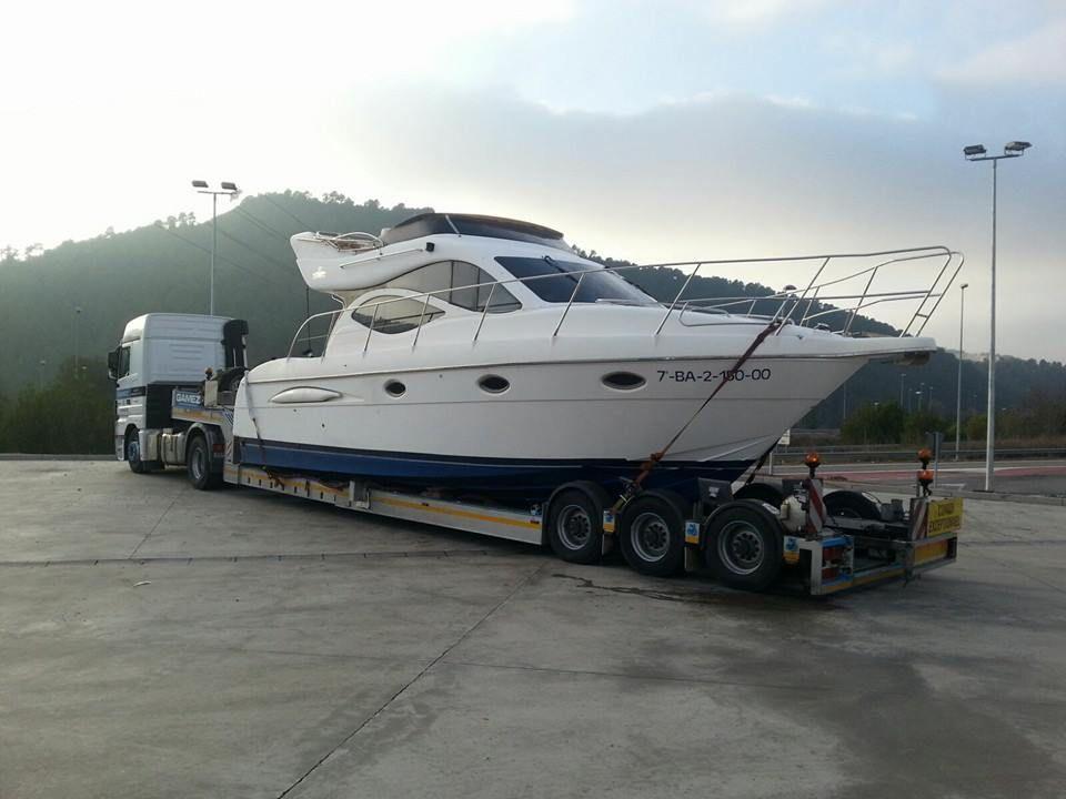 Transporte de embarcaciones a nivel nacional