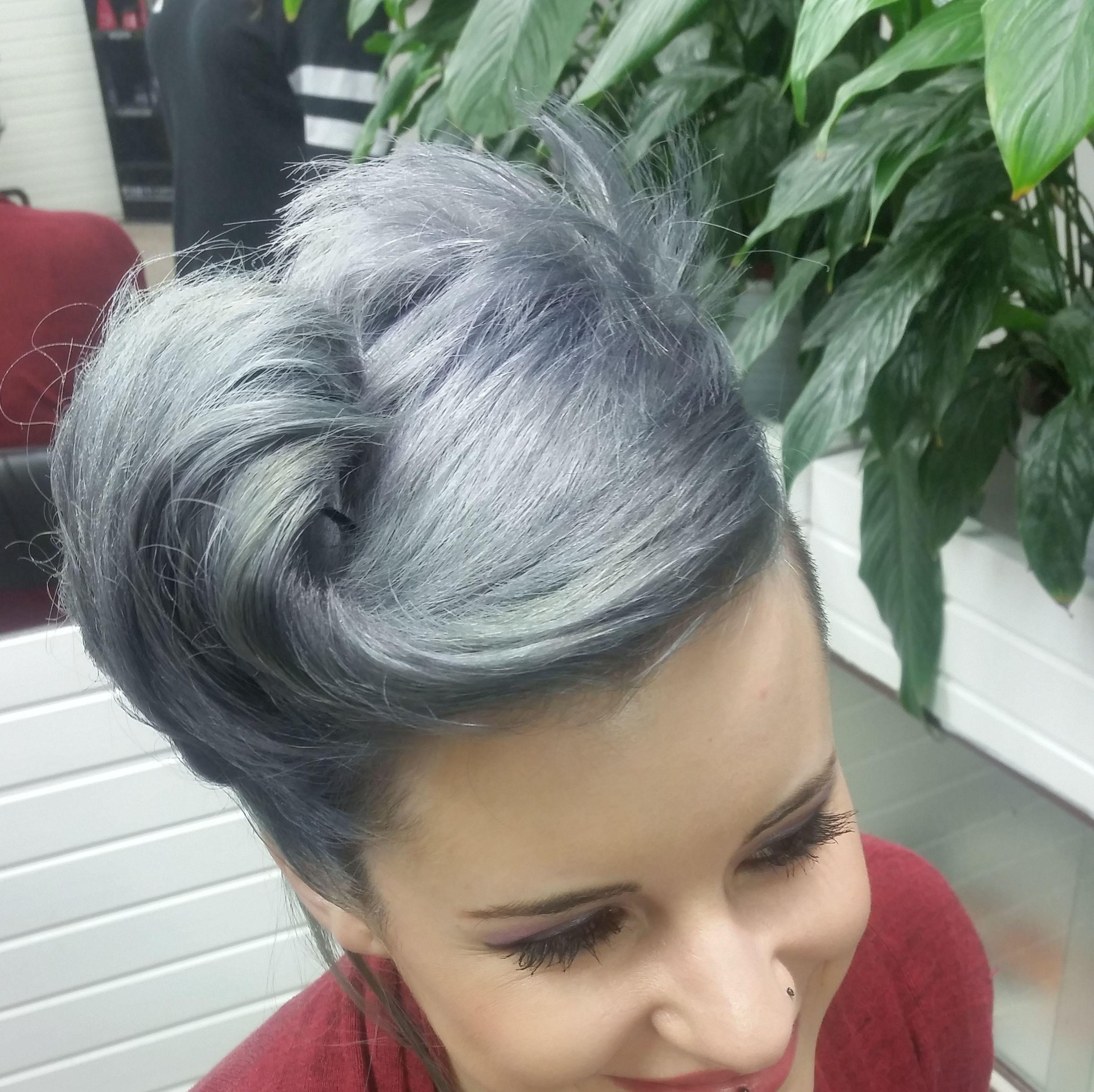 grises con recojido pinap