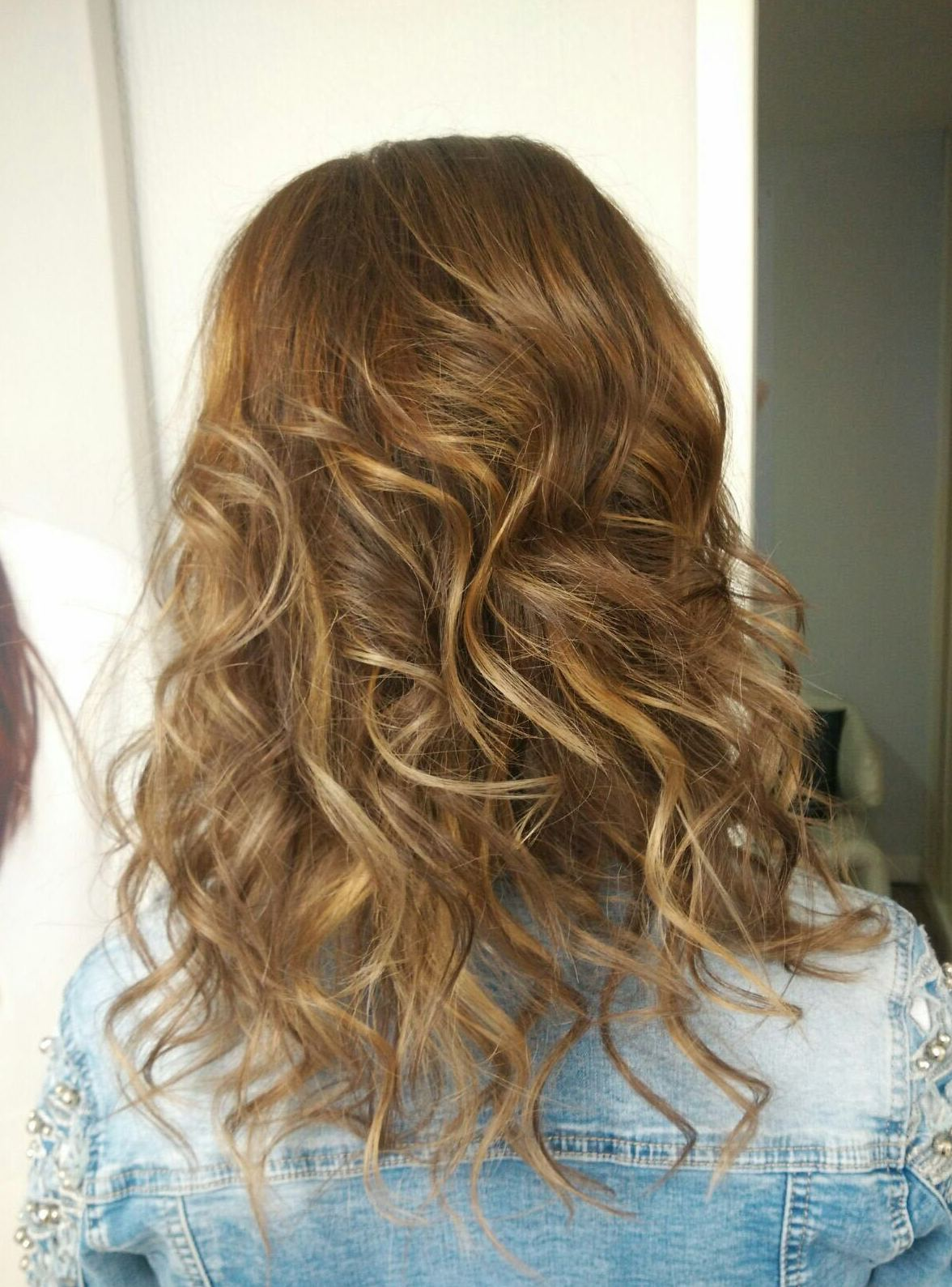 Mechas tigereyes }}