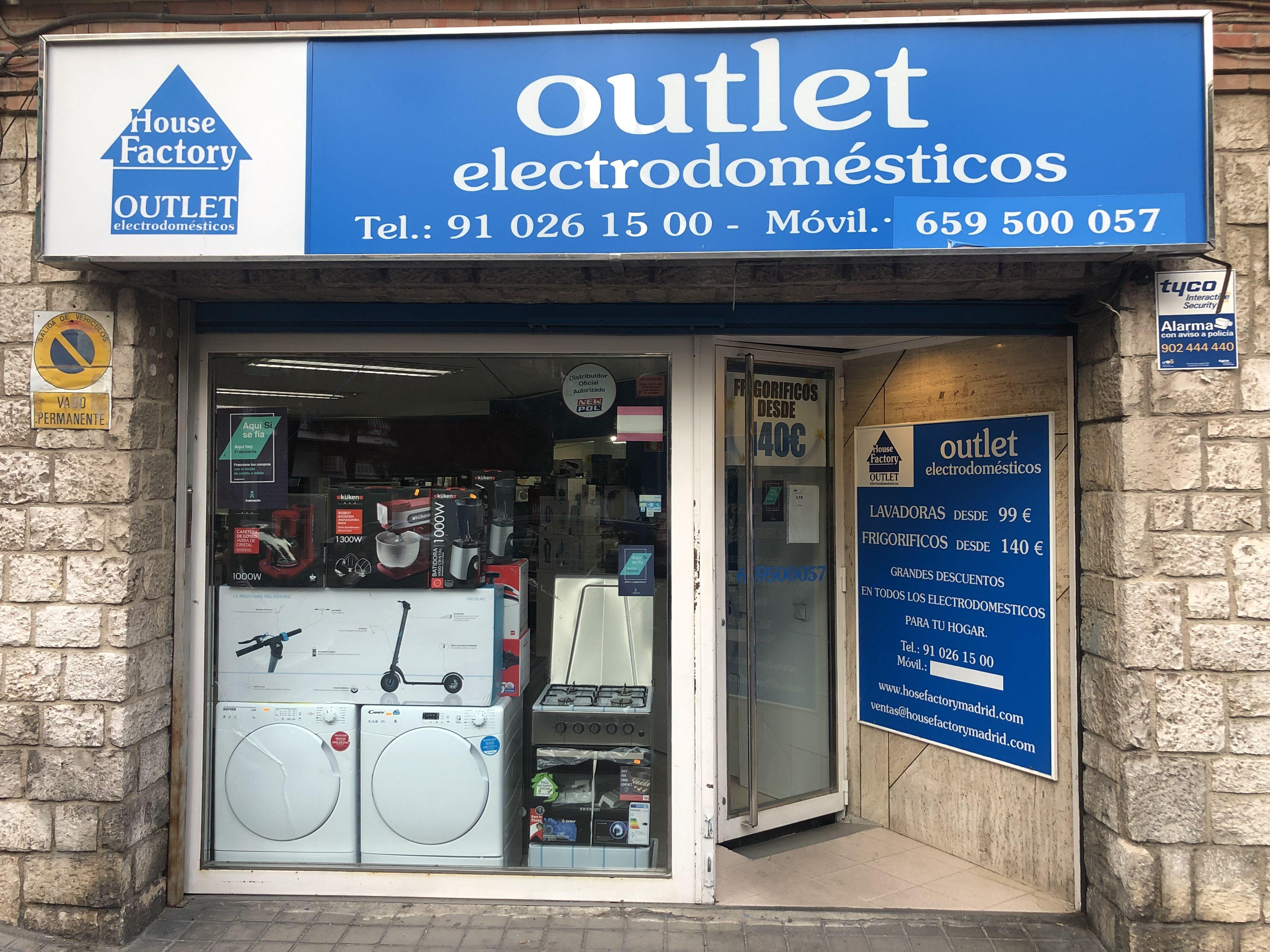 Foto 13 de Outlet de electrodomésticos en Pueblo Nuevo | House Factory Madrid Outlet de Electrodomésticos Pueblo Nuevo