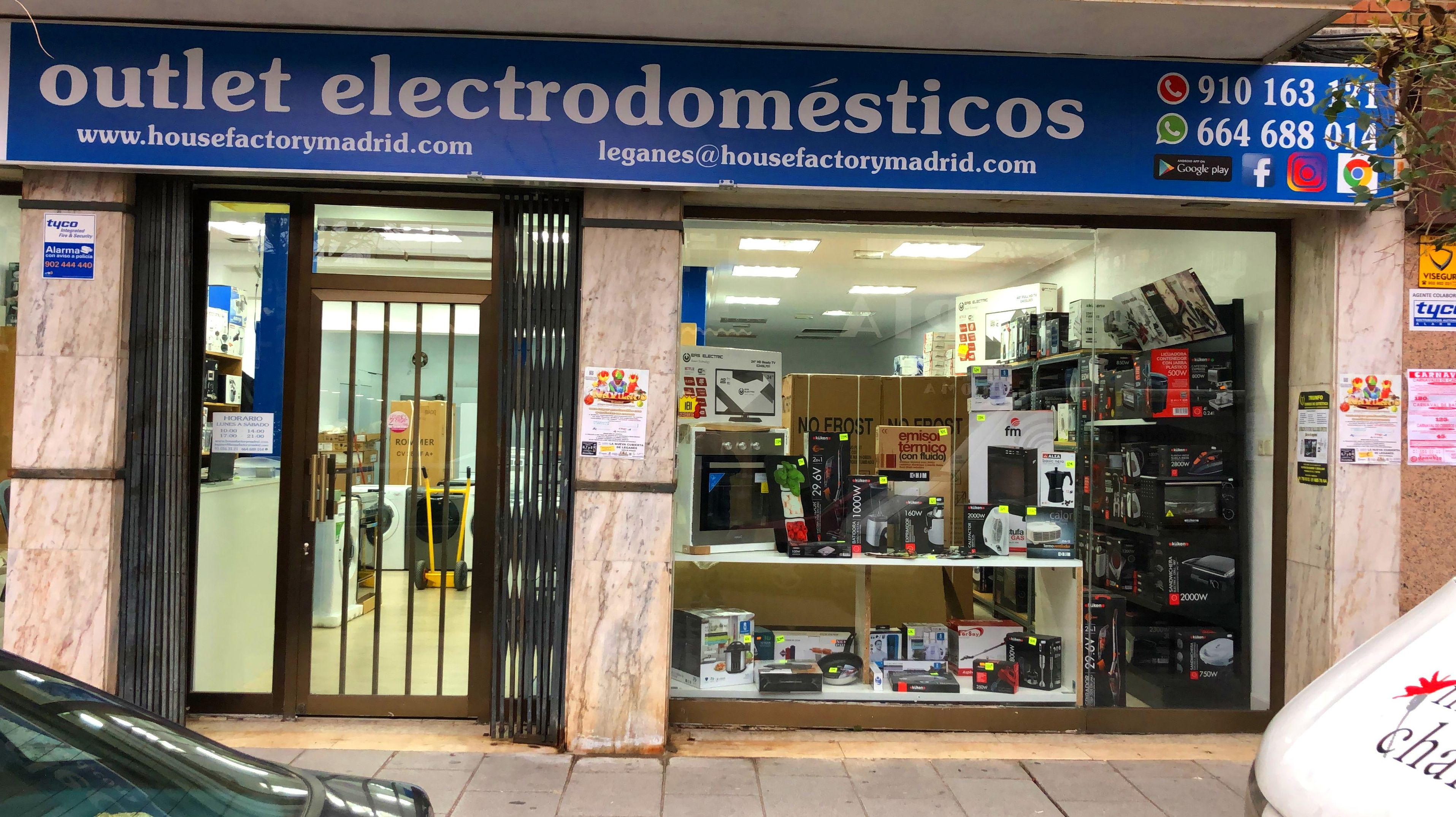 Foto 14 de Outlet de electrodomésticos en Pueblo Nuevo | House Factory Madrid Outlet de Electrodomésticos Pueblo Nuevo