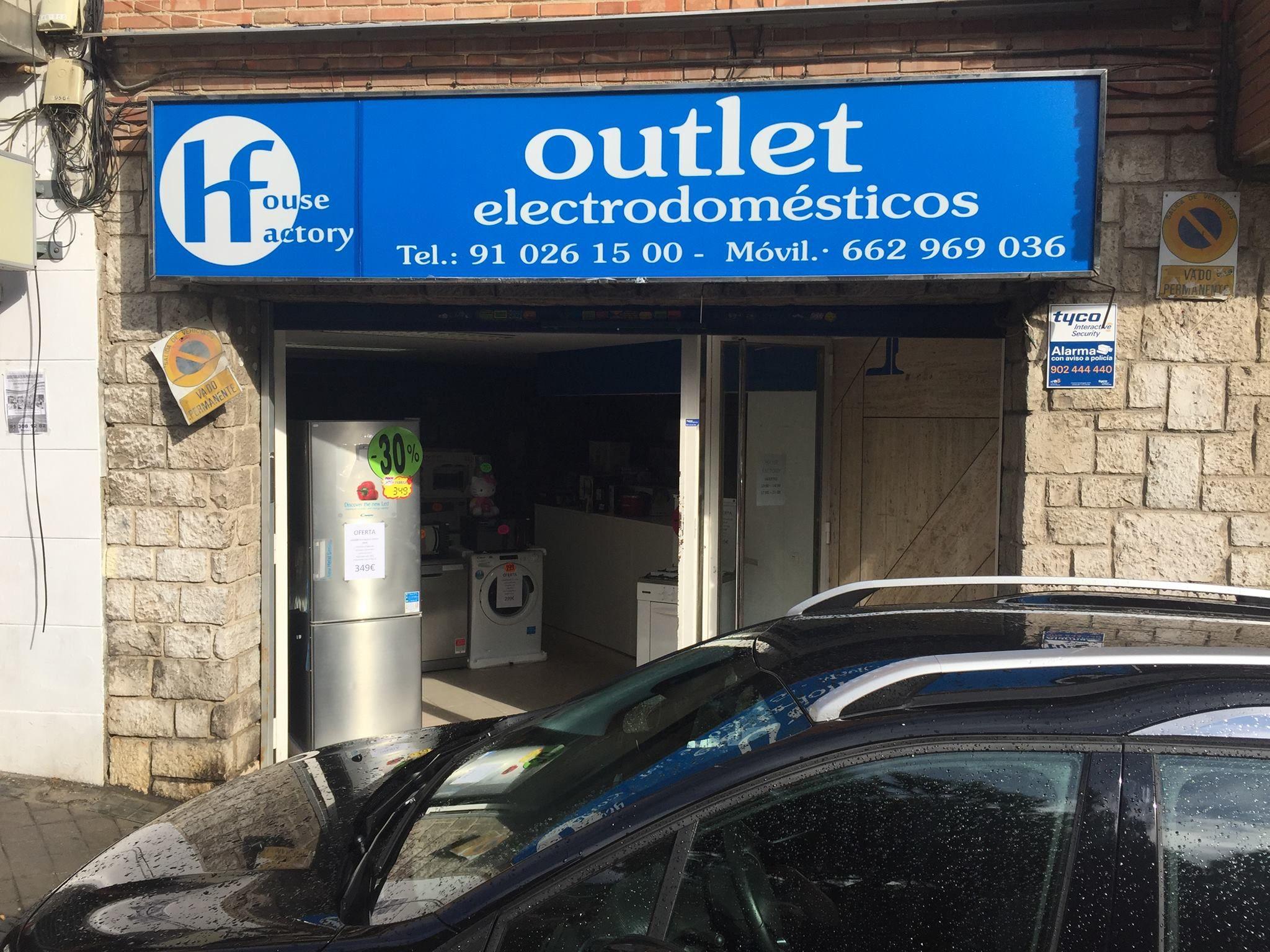 Outlet de electrodomésticos en Valdemoro
