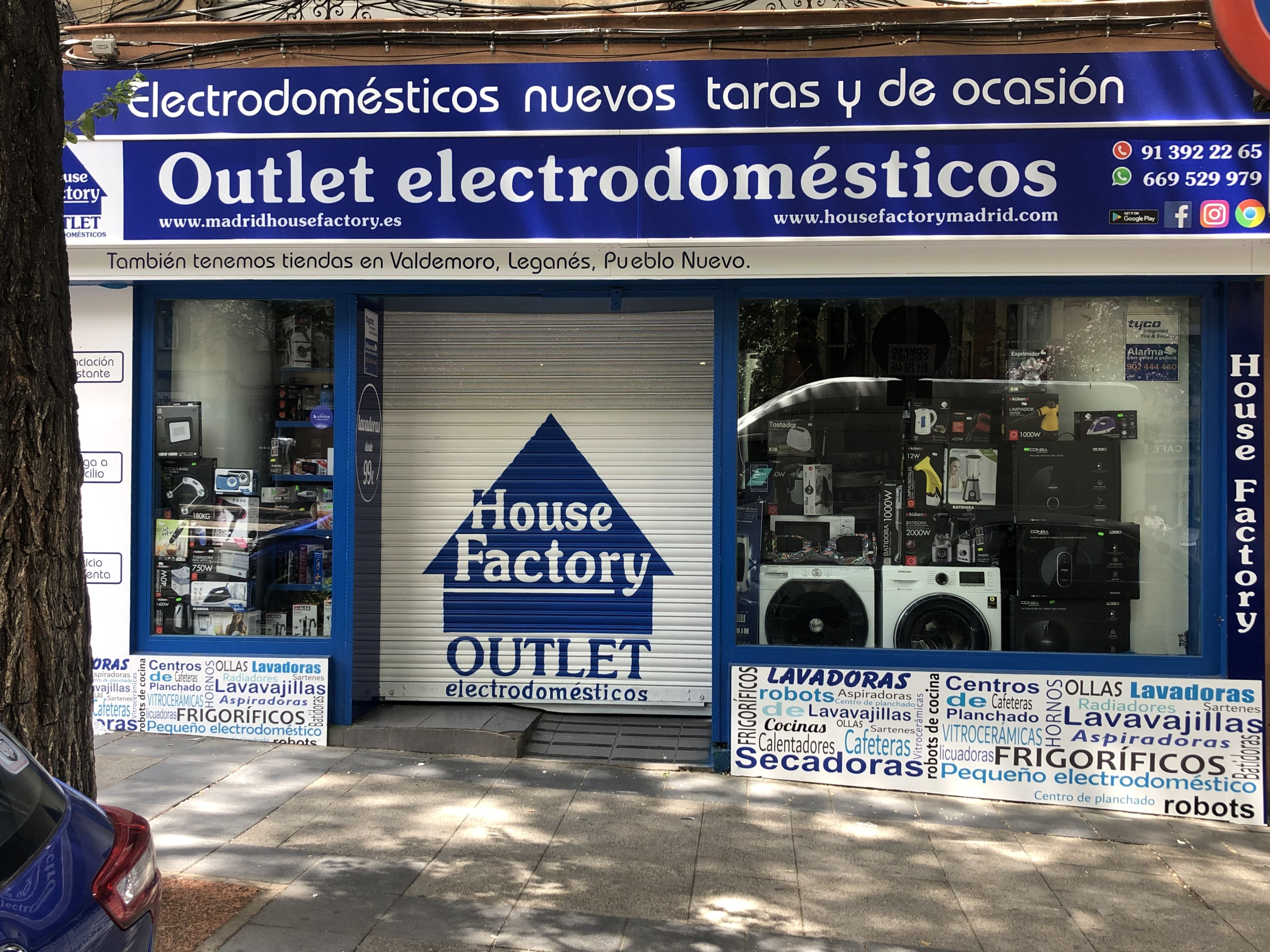 Foto 12 de Outlet de electrodomésticos en Pueblo Nuevo | House Factory Madrid Outlet de Electrodomésticos Pueblo Nuevo