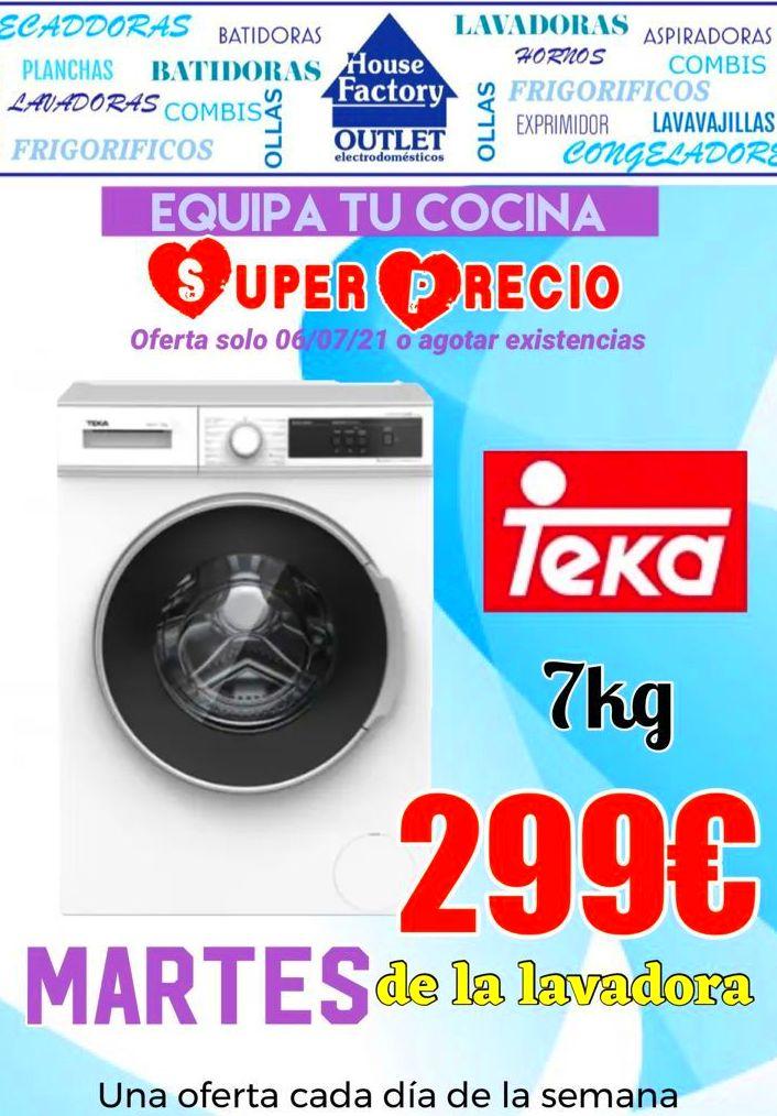 lavadoras de ocasión en pueblo nuevo oferta valida solo los dias 6 y 10 de julio