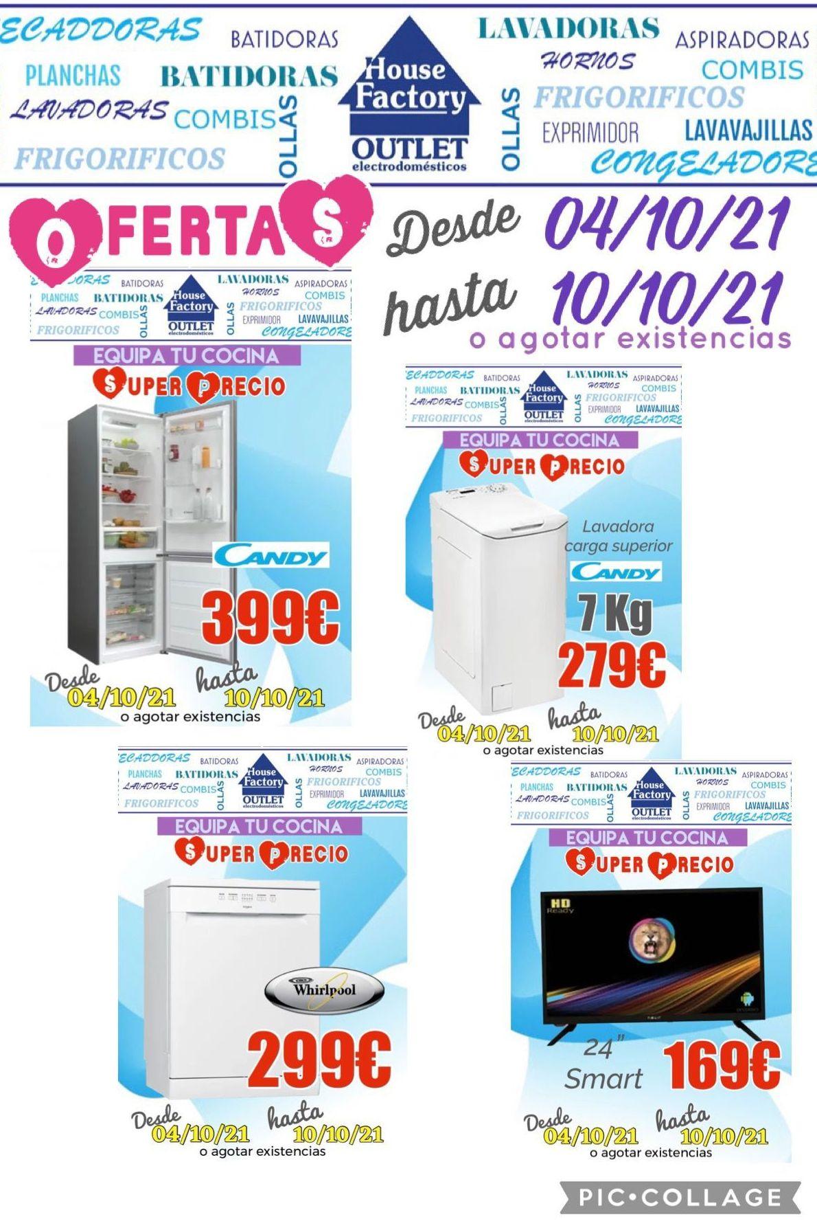 Foto 1 de Outlet de electrodomésticos en Pueblo Nuevo | House Factory Madrid Outlet de Electrodomésticos Pueblo Nuevo