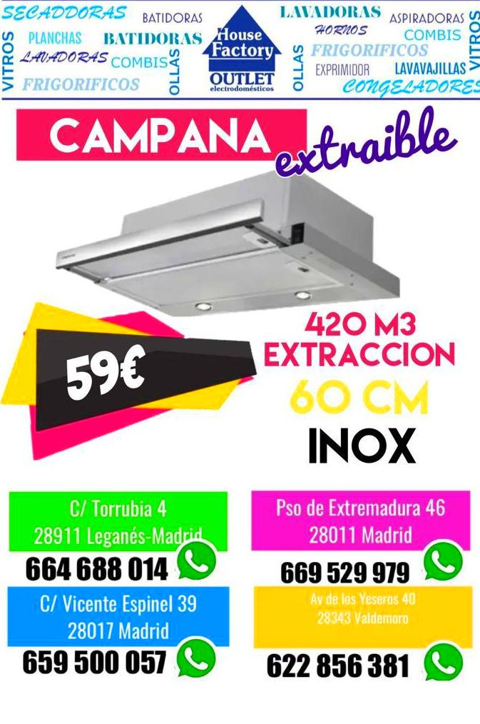 Foto 5 de Outlet de electrodomésticos en  | House Factory Madrid Outlet de Electrodomésticos Paseo de Extremadura