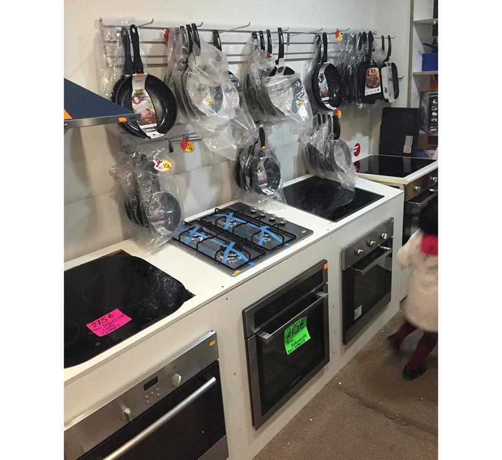 Cocinas y placas baratas en Pueblo Nuevo
