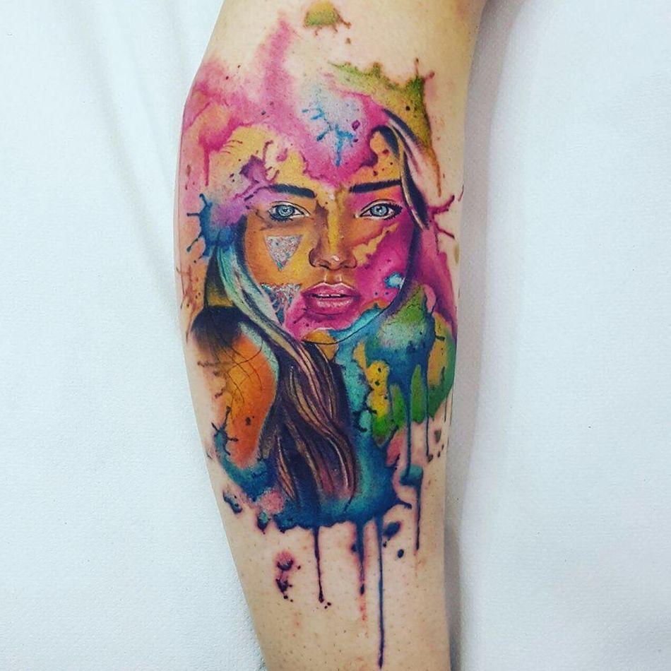 Tatuajes de colores en Ibiza