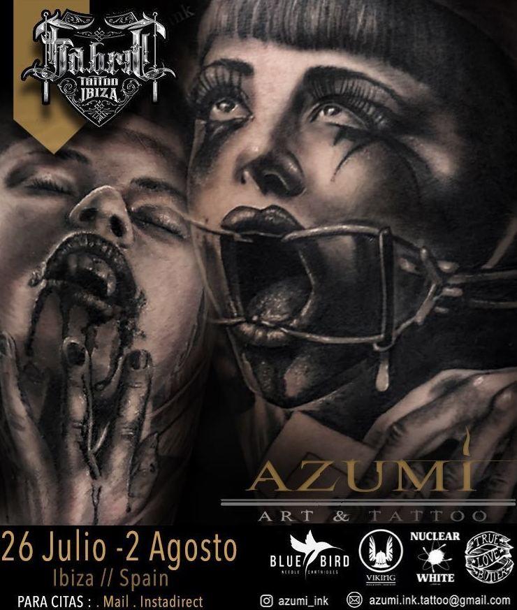 26 Julio - 2 de Agosto Azumi Art & Tatoo