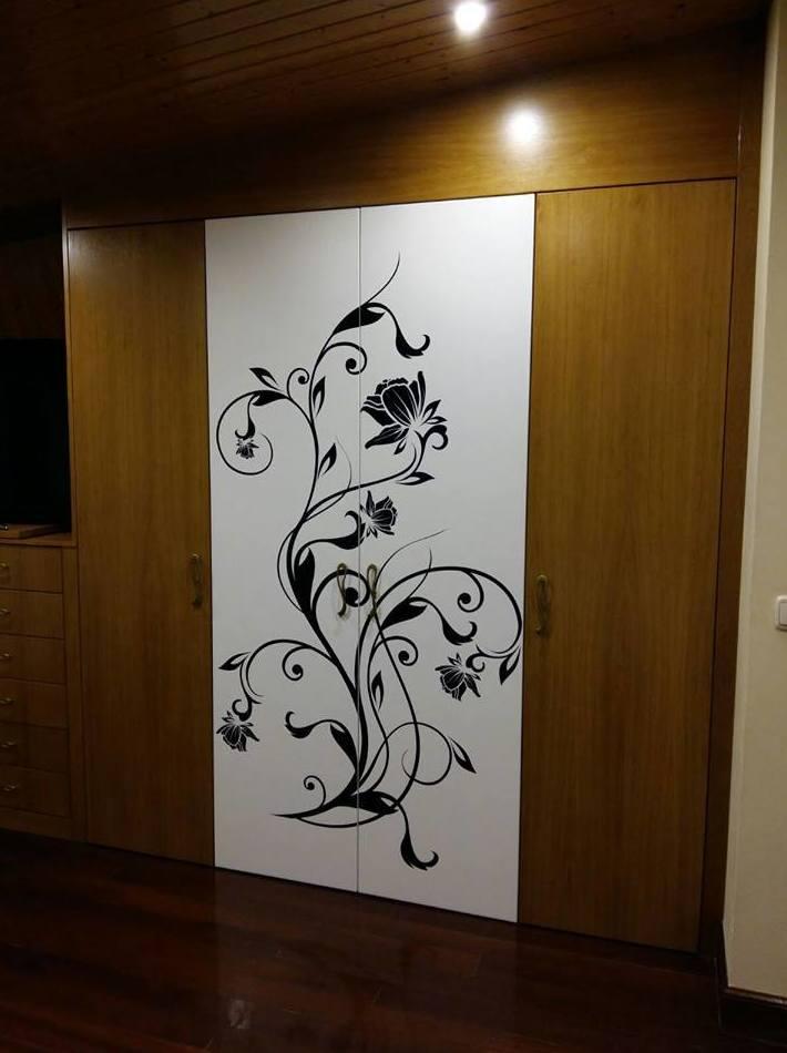 Diseño de puertas de armario