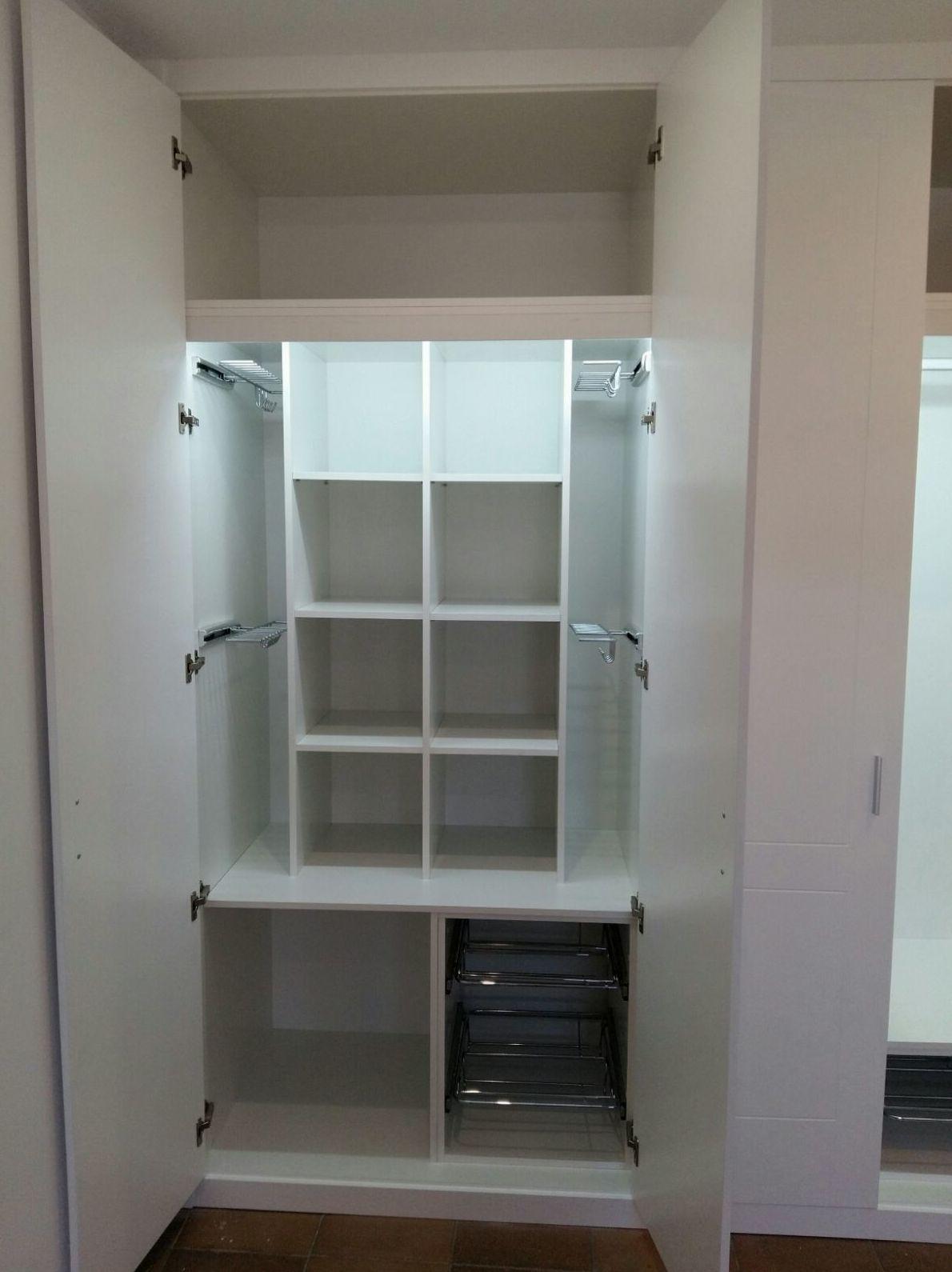 Complementos para armario empotrado en Pontevedra