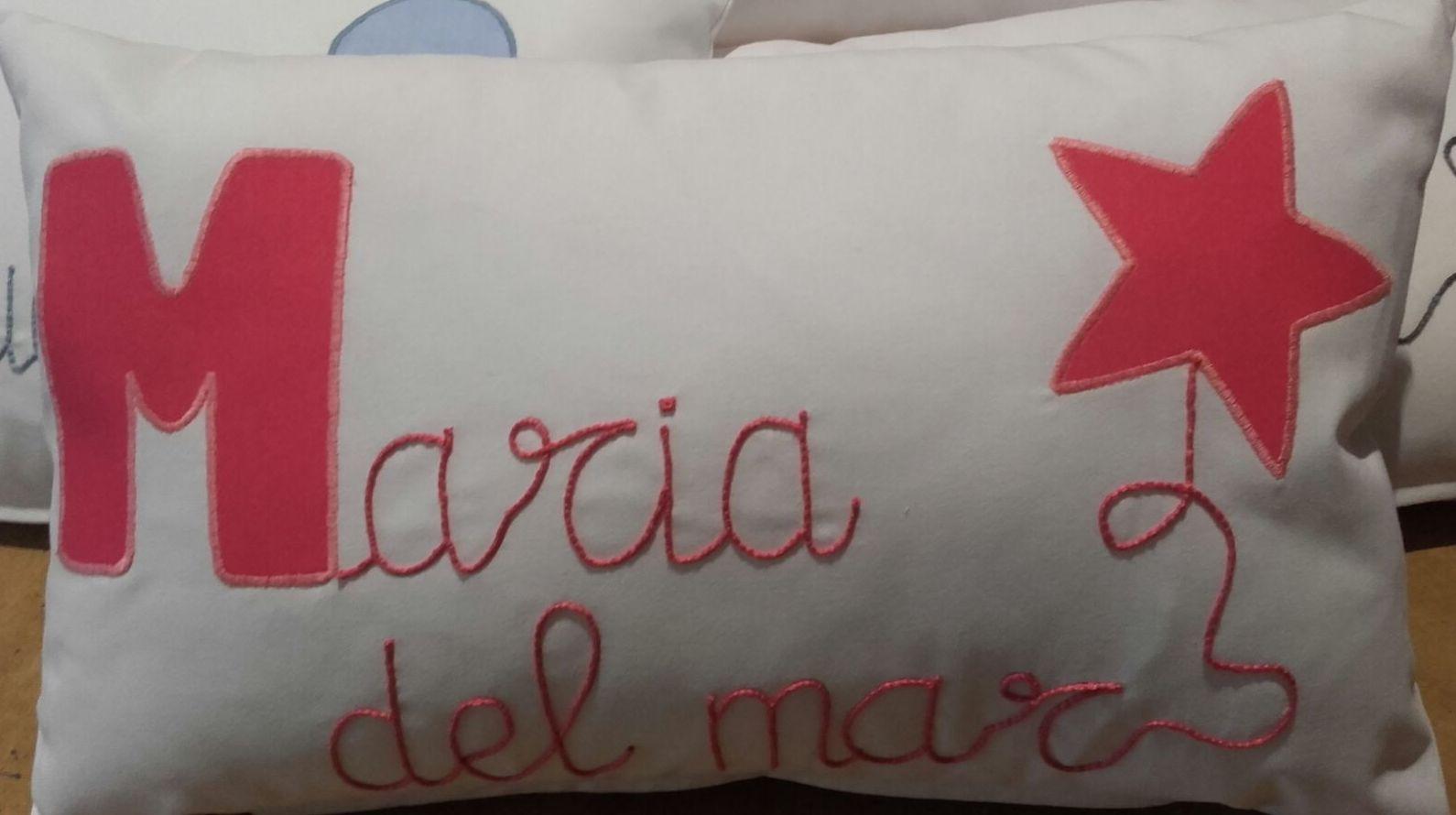 Cojines bordados en Lleida