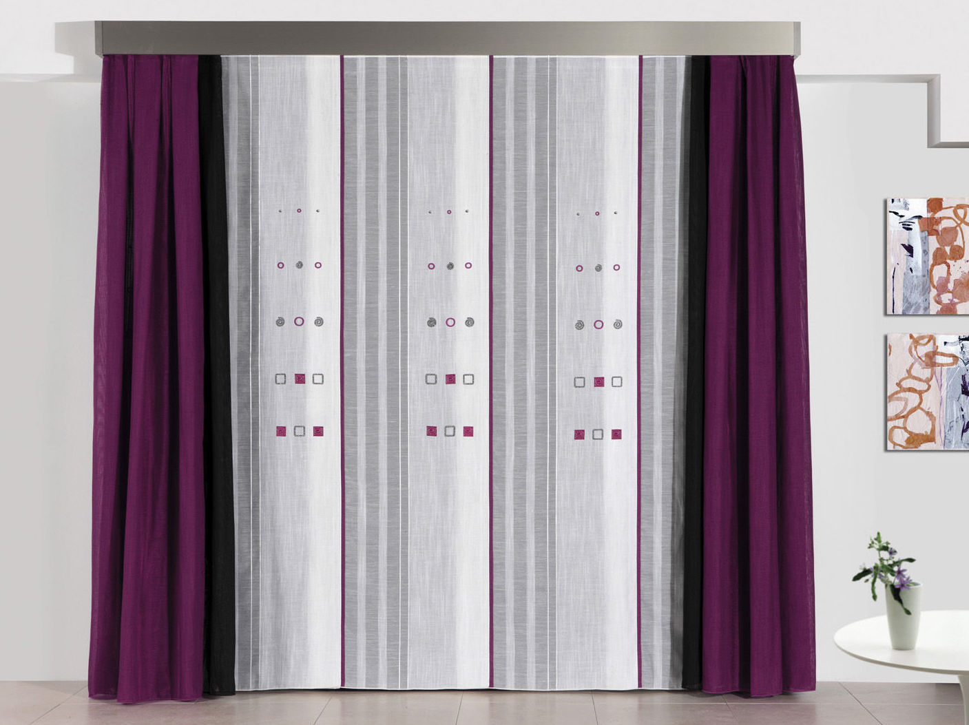 Realización de cortinas para cualquier espacio