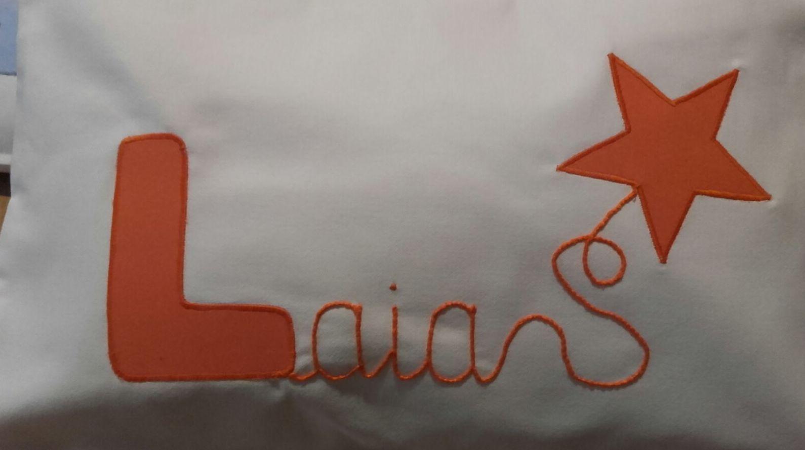 Cojines con tu nombre en Lleida