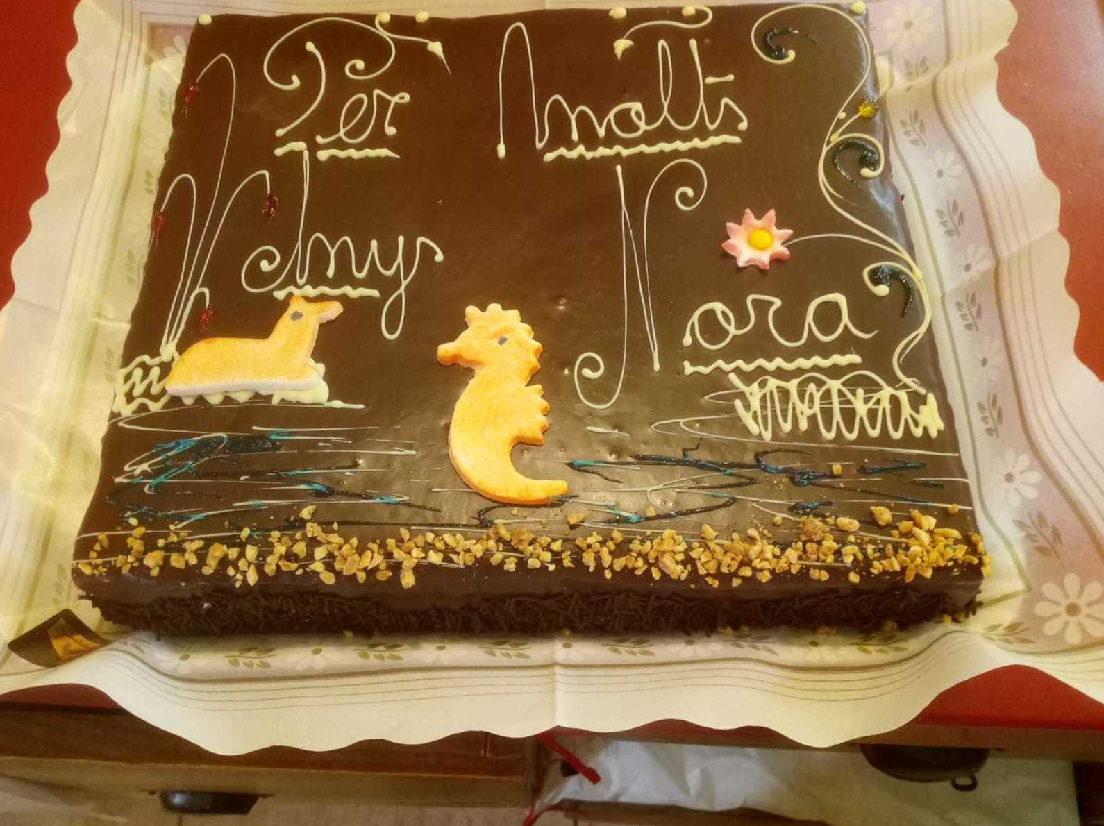 Tartas de chocolate para cumpleaños.  Diseños a tu gusto