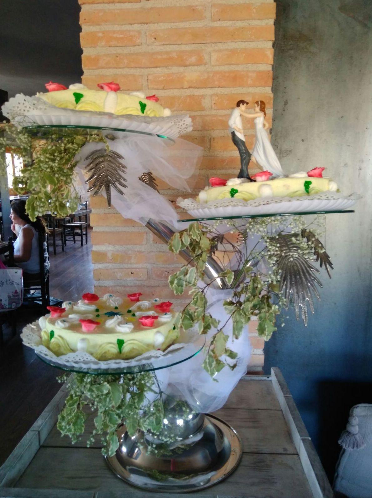 Tartas personalizadas para bodas