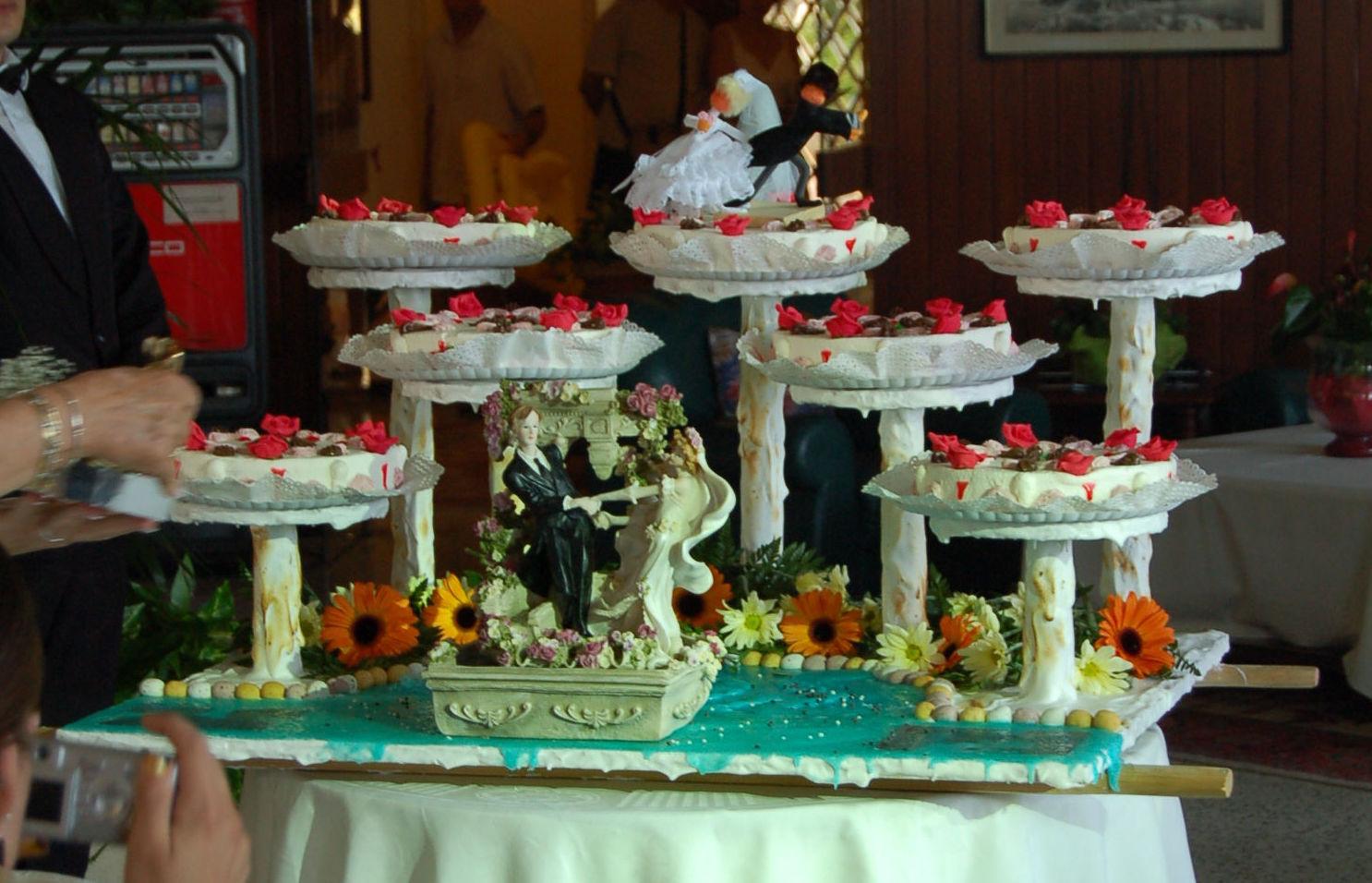 Especialistas en tartas de boda en Salt