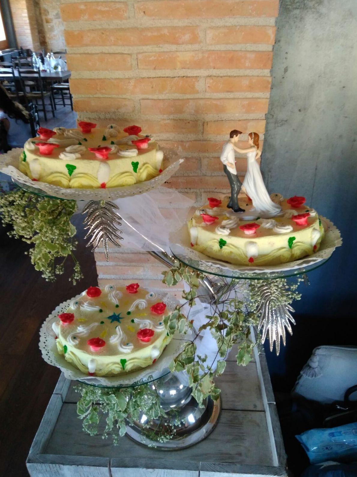 Tartas para bodas en Salt