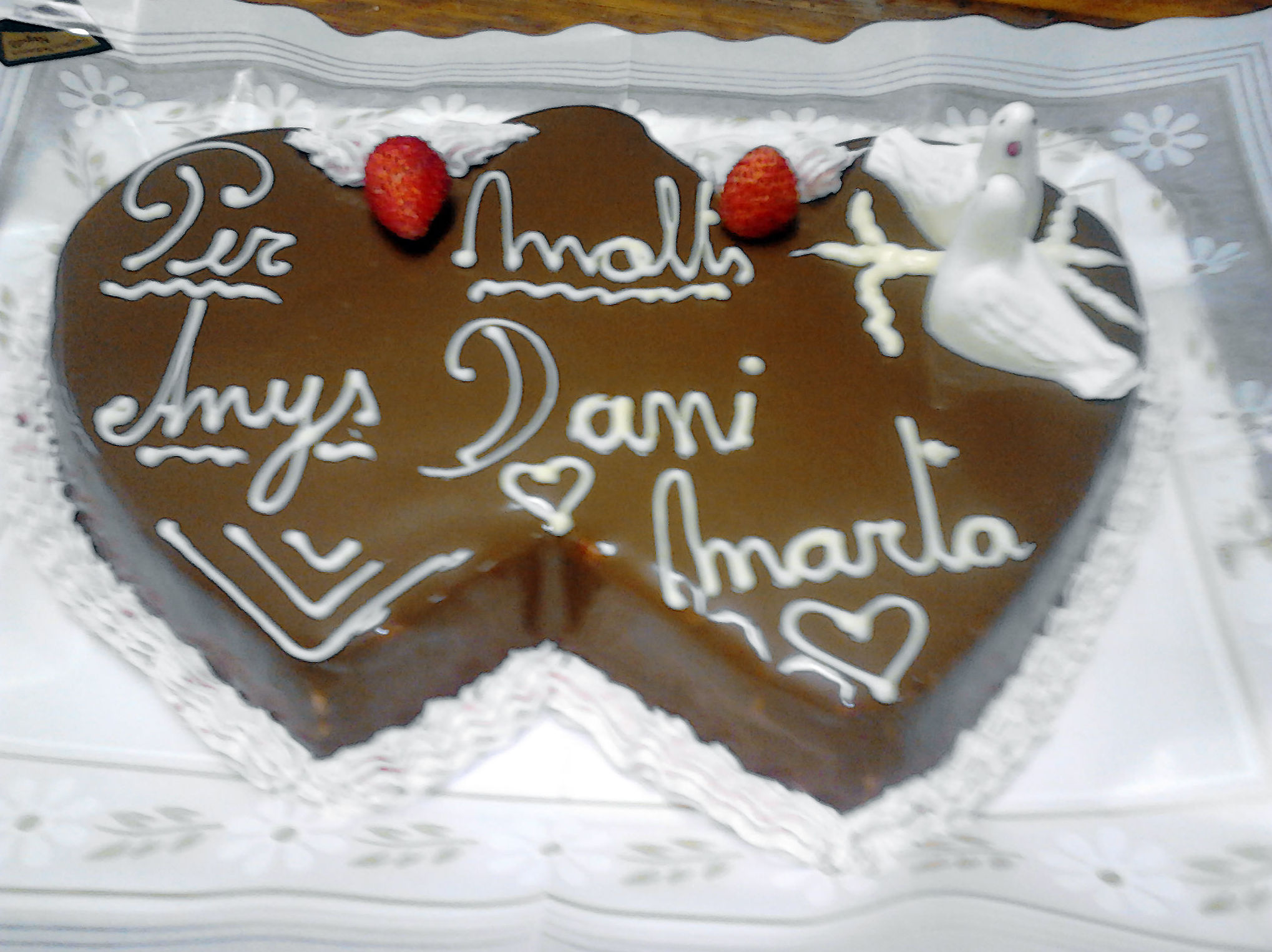 Elaboración artesana de tartas para celebraciones