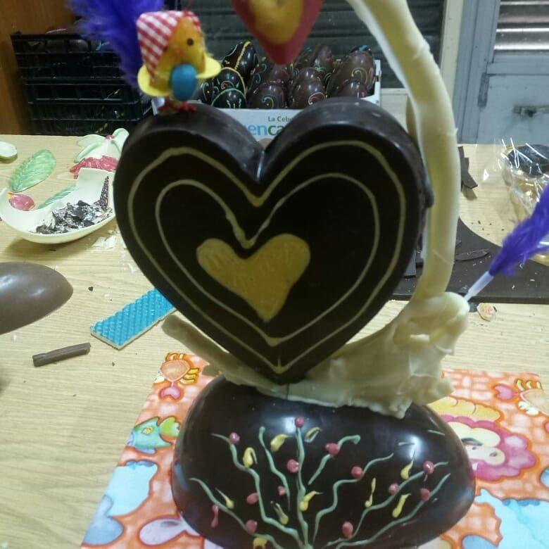 Pascua de chocolate en Pastissería Negrell