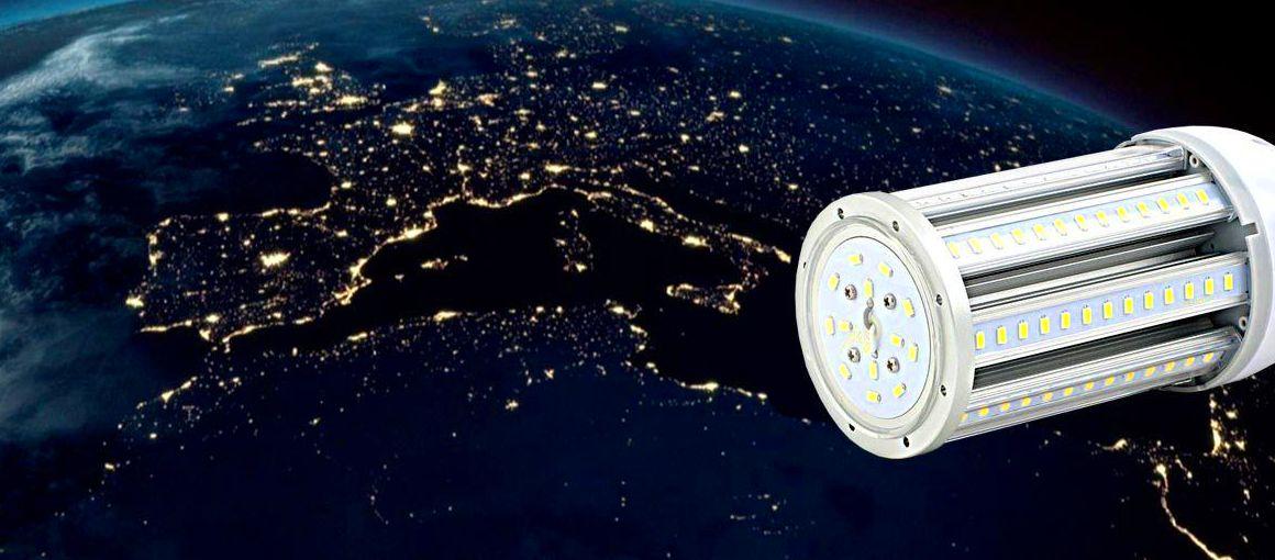 Iluminación LED = Menor contaminación lumínica