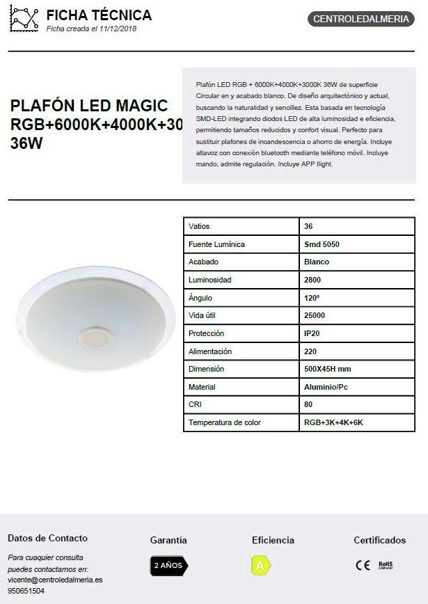 Plafón led magic: Productos de Centro Led Almería