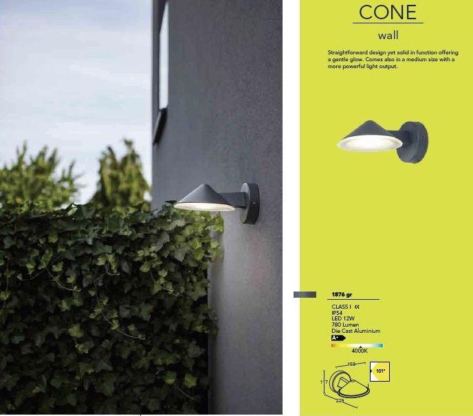"""Modelo """" CONE """": Productos de Centro Led Almería"""