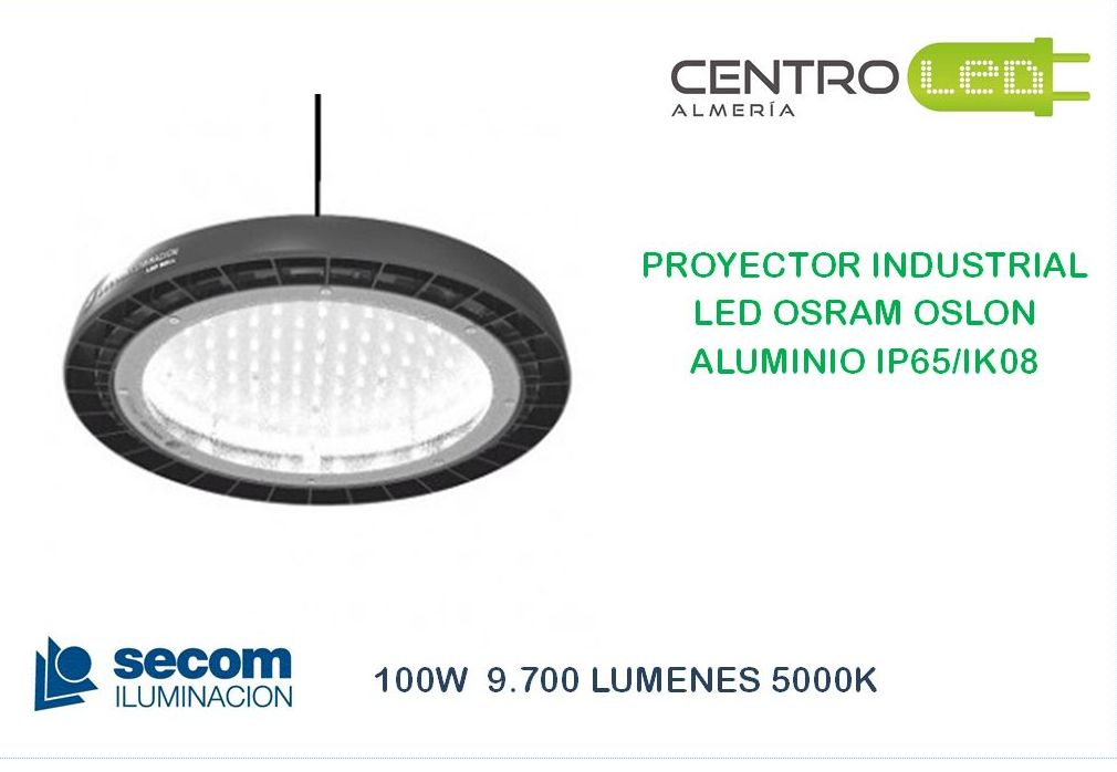 PROYECTOR LED 100W SECOM