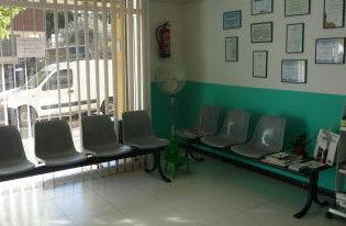 Sala de espera.