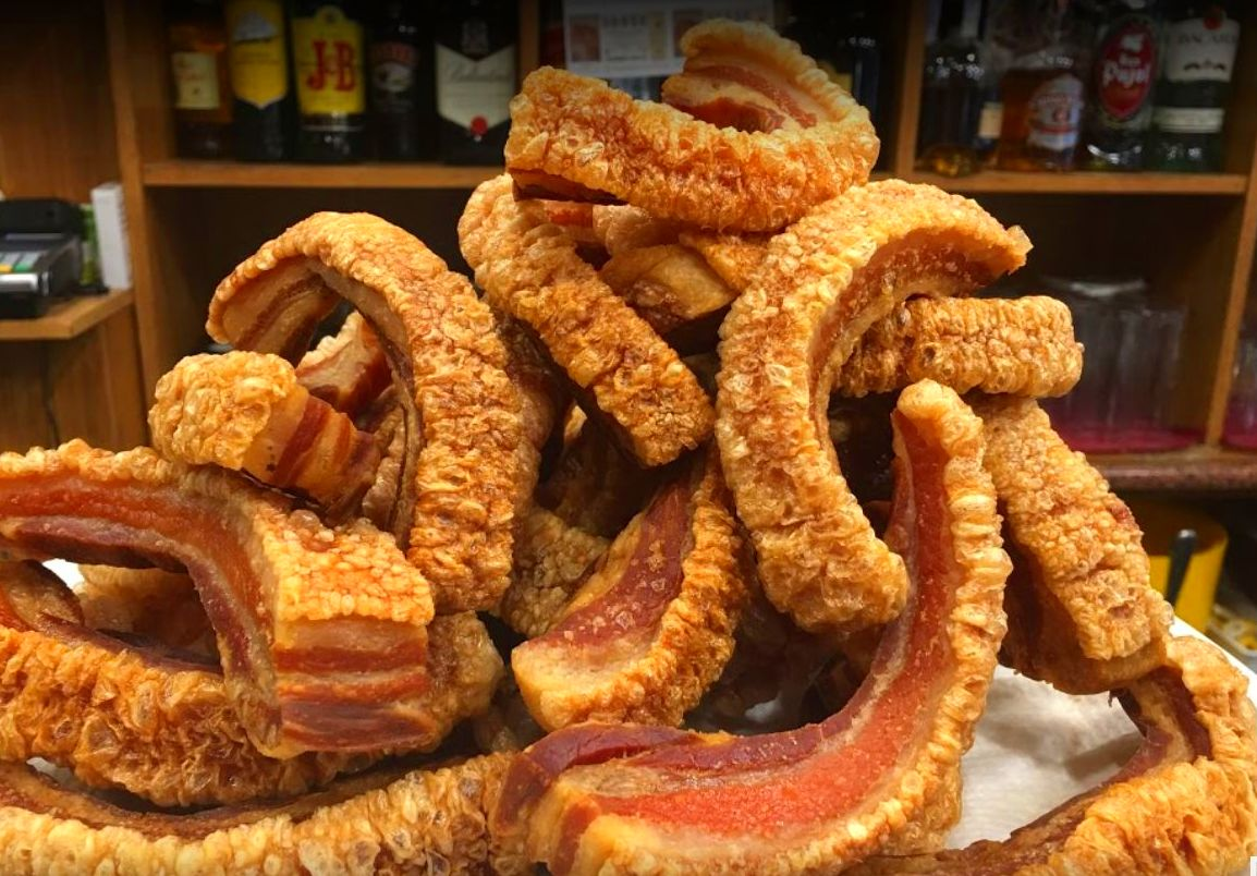 los mejores Torreznos en Barcelona|Meson can meli