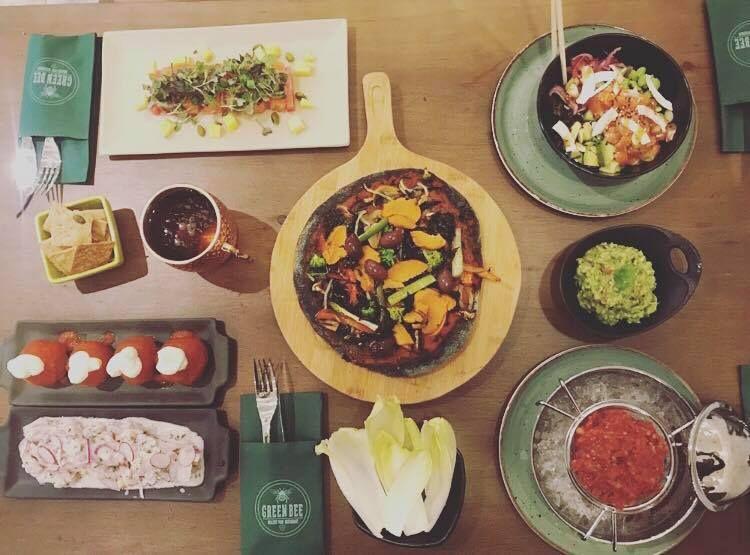 Restaurante de comida saludable en Sant Cugat