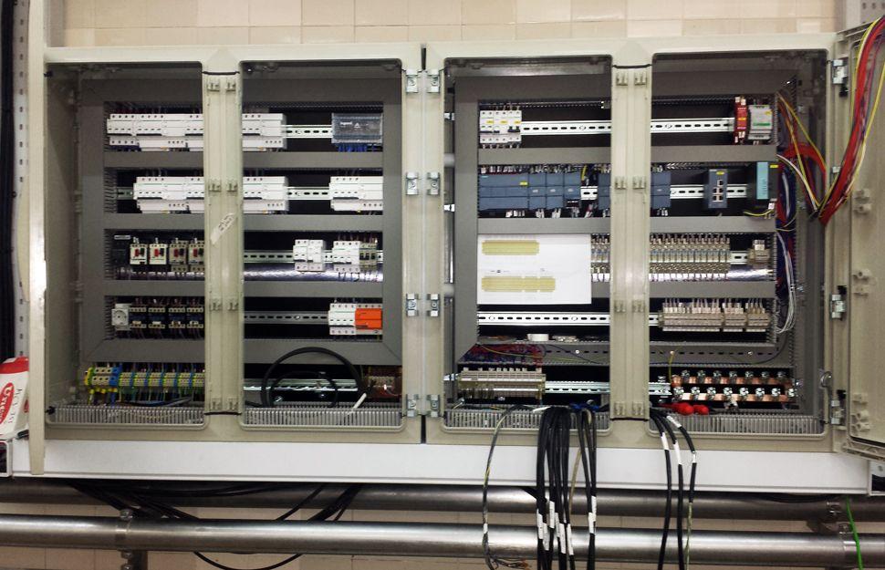 Conexionado de cuadros de señal o datos