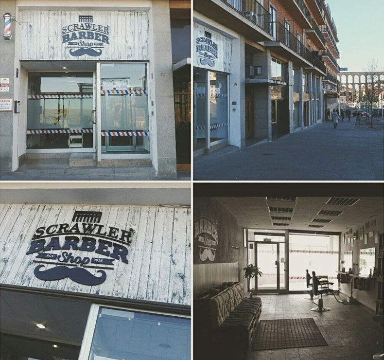 Barbería clásica en Segovia