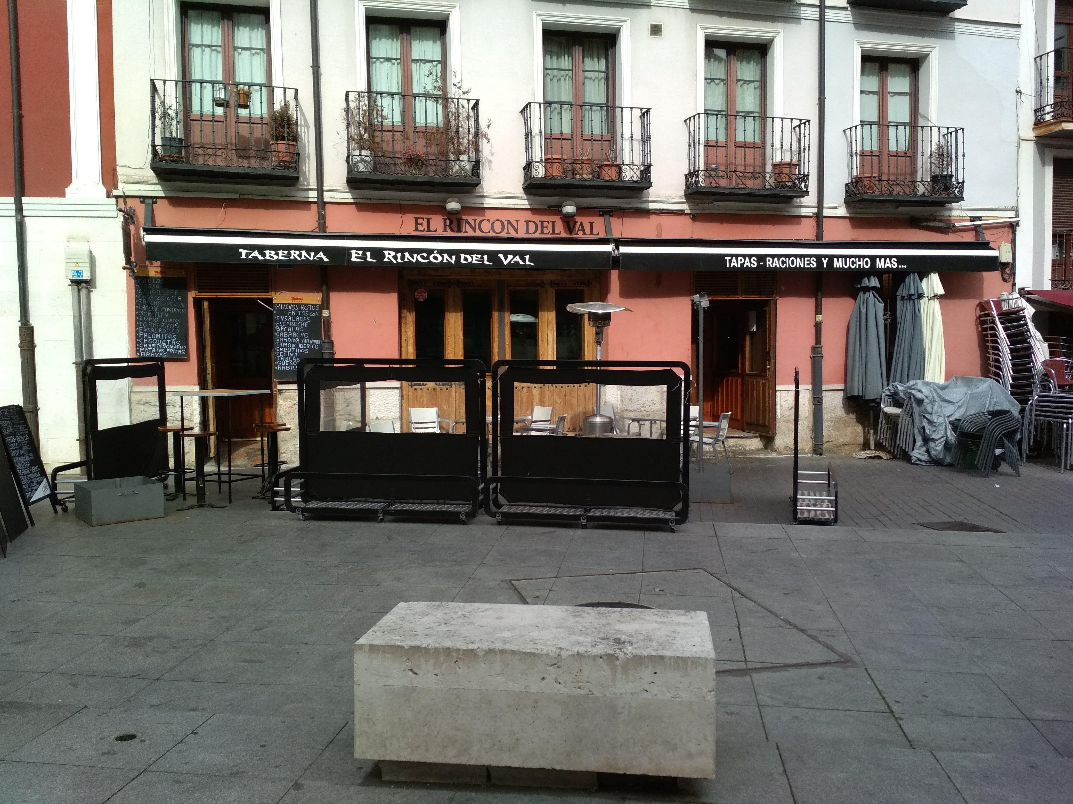 Tapas caseras en Valladolid