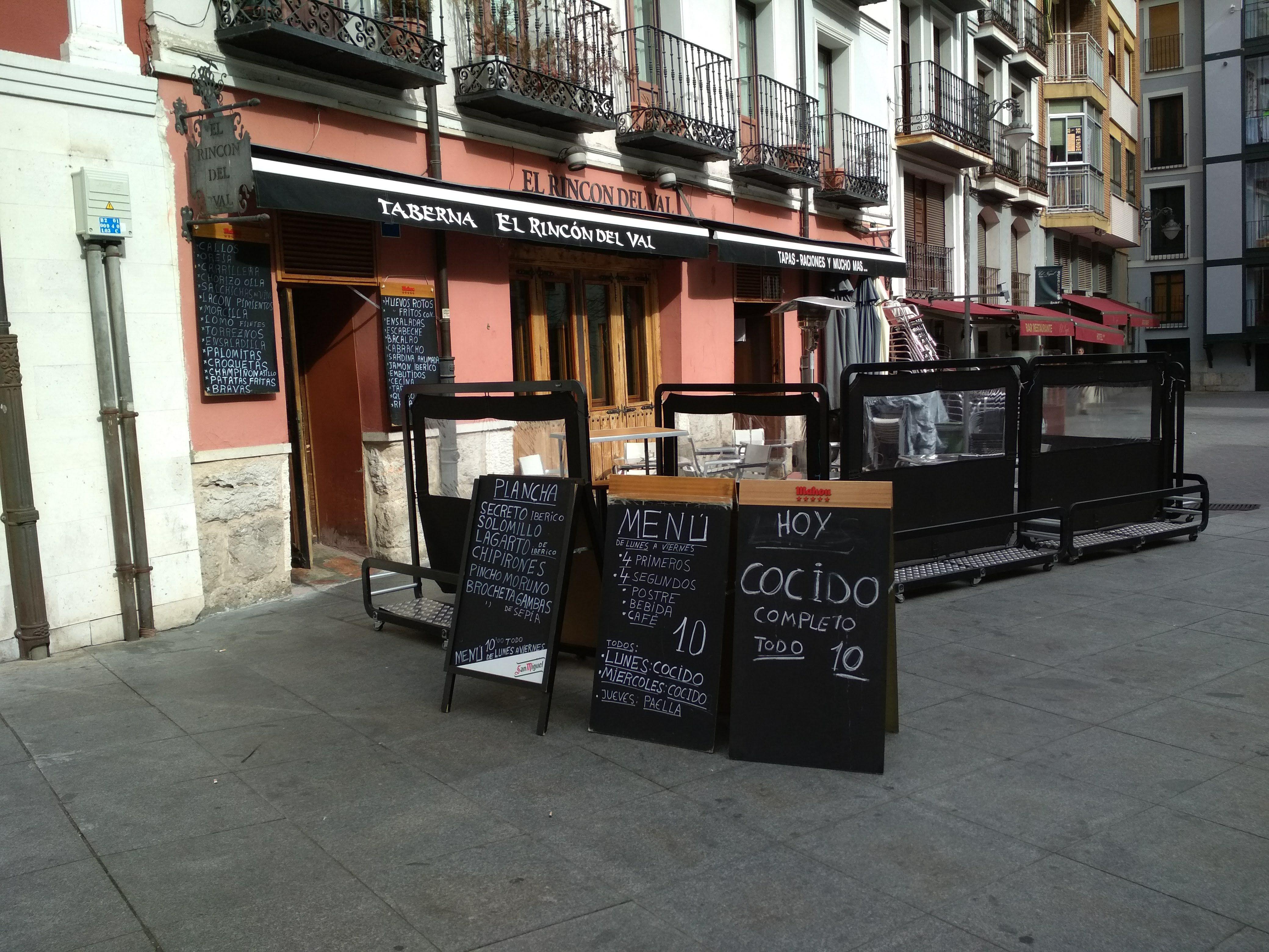 Bares de tapas en Valladolid