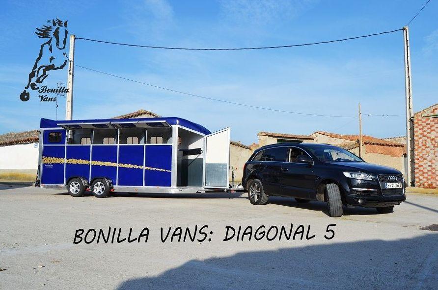 Foto 2 de Remolques para caballos de alta gama en Pedrosillo de Alba | Bonilla Vans