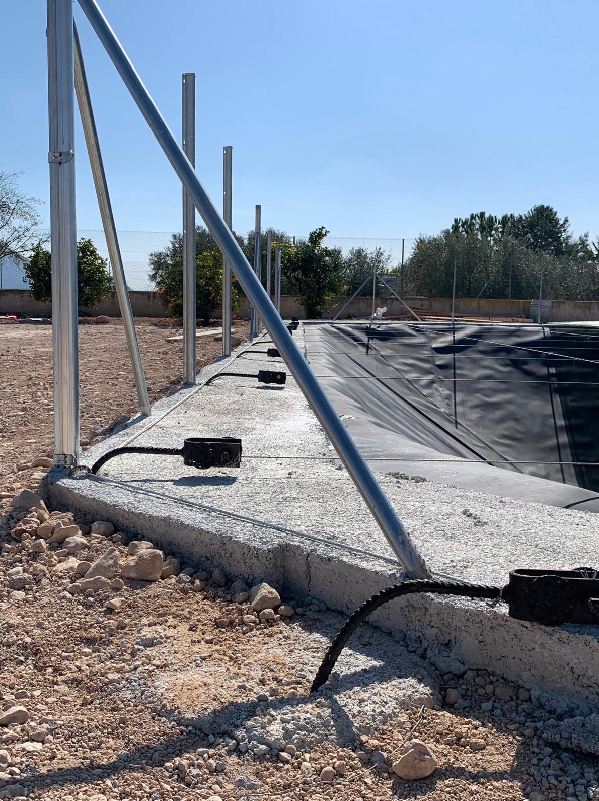 Foto 8 de Infraestructuras y trabajos agrícolas en La Murada – Orihuela | Mantenimiento y Estructuras Agrícolas Mateo e Hijo, S.L.