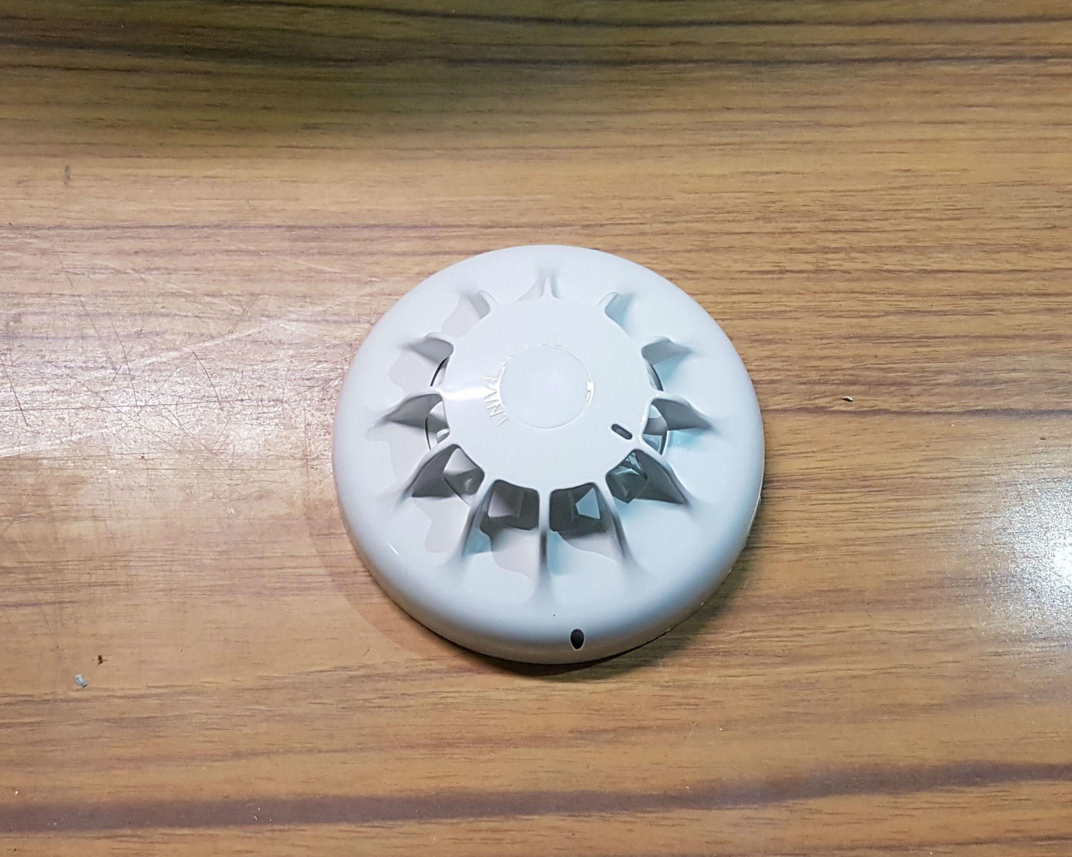 Detector de incendios óptico