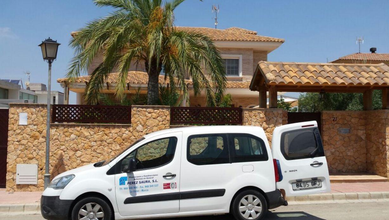 Foto 1 de Empresas de construcción en La Unión | Construcciones y Estructuras Pérez- Saura, S. L.