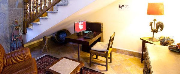 Zona de internet en el hotel
